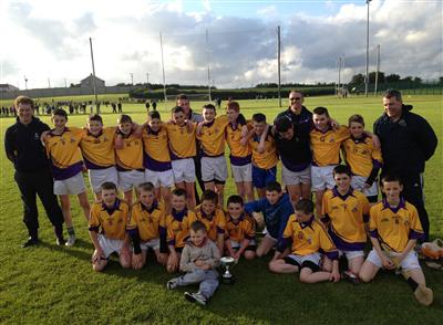 U14 County League Champions 2012